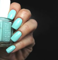Esse Blossom Dandy. Gorgeous swatches of all the new Essie Spring 2015 shades