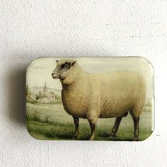Caixa de Tricot | Knitting Kit Knitting supplies Sheep Box Vintage