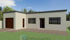 Flat Roof Design, House Roof Design, Flat Roof House Designs, Small House Design, Low Cost House Plans, My House Plans, Garage House Plans, 2 Room House Plan, 2 Bedroom House Plans