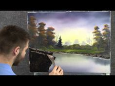 """""""Lonely Pine"""" an oil painting by Kevin Hill"""