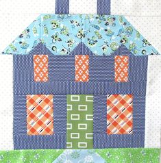 Bee In My Bonnet: My Home Sweet Home Quilt Block Pattern - In Quiltmakers Magazine 100 Blocks!!! ...