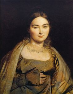 Portrait of Madame Ingres, 1815Jean Auguste Dominique Ingres - by style - Neoclassicism