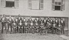African American Baseball Team Photo, Danbury, Connecticut, Black Baseball Teams, 1880, Danbury, CT