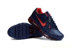 Nike Air Max 2017 Men Blue Red KPU Shoes