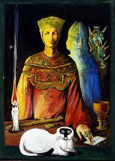 1976.22.05 Ugo Sterpini, Nel castello di Canossa la notte del 25 gennaio 1077