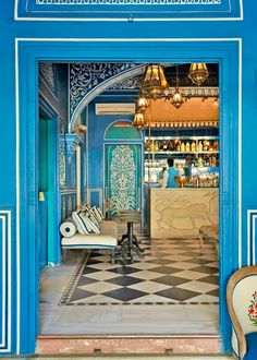 Where to Stay, Eat, and Play in Jaipur Bar Palladio - Hotel Narain Niwas Palace Source by micaflor. India Jaipur, Udaipur, Delhi India, India Architecture, Cultural Architecture, Indian Interiors, Golden Triangle, India Travel, Jaipur Travel