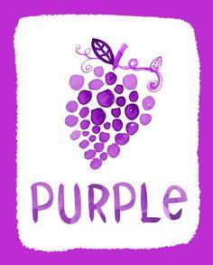 Purple-Color Series