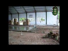 Así se construyó el Estadio con Piso de Parqué en Sociedad Sportiva Devoto. Parte I  #VamoSSDevoto
