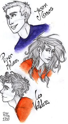 Leo, Piper and Jason sketch! :D