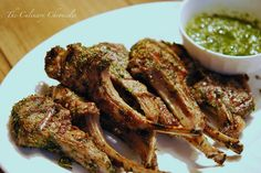 Rosemary-Garlic Lamb Rib Chops