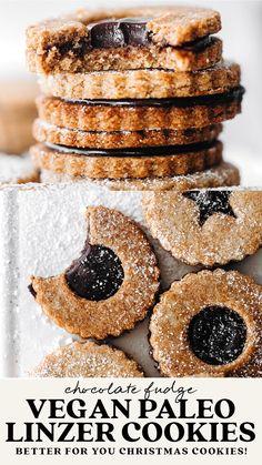 Vegan Dessert Recipes, Dairy Free Recipes, Baking Recipes, Cookie Recipes, Gluten Free, Healthy Desserts, Just Desserts, Delicious Desserts, Yummy Food