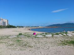 Hayashizaki-Beach Akashi-City Japan.