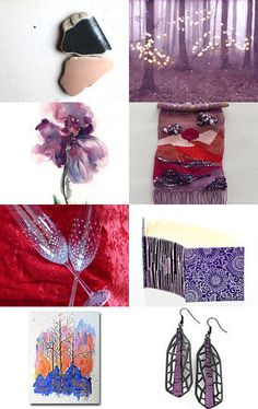 ~~Wednesday in purple~~ by Ivana Kristina on Etsy--Pinned with TreasuryPin.com