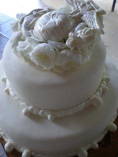 my bridal cake Marine Corp Wedding Cake