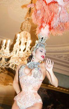 Immodesty Blaize, Burlesque artist