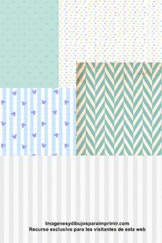Papel scrapbook para bebes para imprimir-Imagenes y dibujos para imprimir