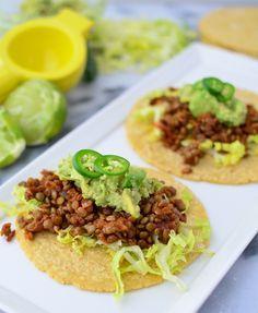 Lentil Tacos!