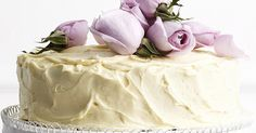 White Chocolate Rose Wedding Cake Recipe