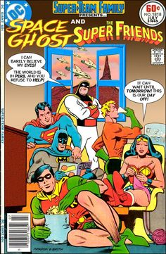 The Television Crossover Universe: Super Friends: The Legendary Super Powers Blog