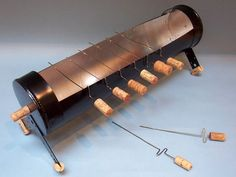 How to Make a Yakitori Grill – DIY projects for everyone! Grill Diy, Yakitori, Infrared Grills, Barbecue Smoker, Bbq Island, Cooking Supplies, Grill Design, Bbq Party, Cooking Gadgets