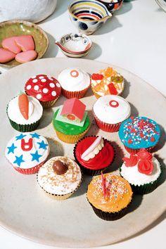 pistas para organizar una fiesta de cumpleaños infantil: cupcakes