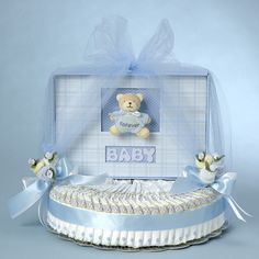 Forever Baby Book Diaper Cake
