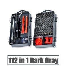 115 In 1 Precision Magnetic Screwdriver Set – Deals-o-saur Power Hand Saw, Apple Laptop Macbook, T2 T3, Flint Fire Starter, Bit Set, Construction Tools, Screwdriver Set, Fire Starters, Tool Steel