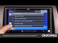 JVC KW-V50BT Display and Controls Demo | Crutchfield Video - YouTube #JVC #CarAudio #CarReceiver