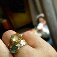 Delphine Pariente rings