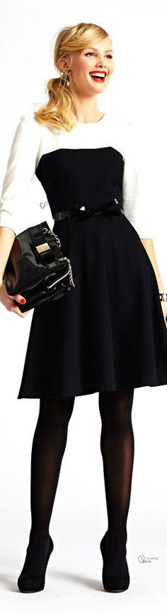 Kate Spade ● fit & flare dress