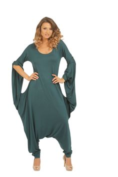 Salopeta CRDN GREEN S011 Cold Shoulder Dress, Free, Dresses, Fashion, Gowns, Moda, La Mode, Dress, Fasion