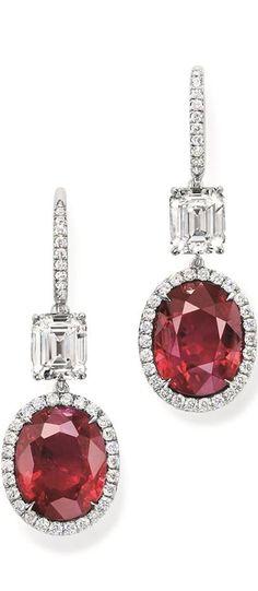 Harry Winston Diamonds and Ruby | LBV ♥✤ | KeepSmiling | BeStayElegant