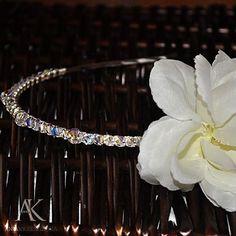 Biżuteria do ślubu - Fiore di cristallo