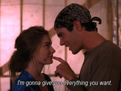 Shelly Johnson and Bobby Briggs - Twin Peaks