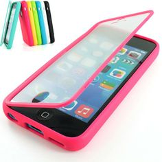 For Apple iPhone Colorful TPU Wrap Up Case Cover w/ Built in Screen Protector on Wanelo Ipod 5 Cases, Cheap Phone Cases, Cool Iphone Cases, Cool Cases, Cute Phone Cases, Nouvel Iphone, Coque Iphone, Iphone Accessories, Ipad Case