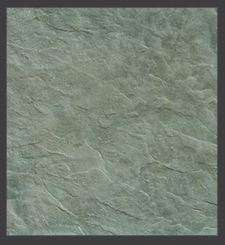 Stamped concrete - Fractured Slate Seamless Texturing Skin