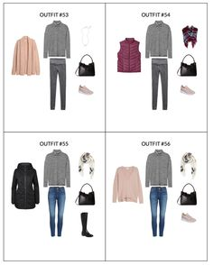 Stay At Home Mom Capsule Wardrobe Winter 2018 - sample page 2