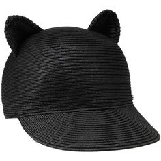 Karl Lagerfeld Choupette Hat (€98) ❤ liked on Polyvore featuring accessories 2e7b92d09cdd