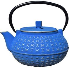 Old Dutch Yorokobi Stainless Steel & Porcelain Teapot