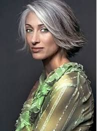 Image result for short silver hairstyles