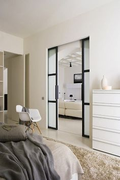 Want these doors :) especially going into a bathroom