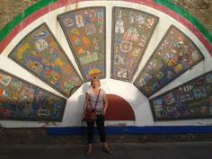 Mosaic on Brick Lane