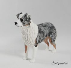 Custom made dog art (figurines, sculptures, reliefs) after photos by Liplyandia. Perfects gift ideas for a dog lover! Dog Sculpture, Animal Sculptures, Clay Sculptures, Aussie Dogs, Australian Shepherd Dogs, Large Scale Art, Dog Art, Clay Art, Pet Portraits