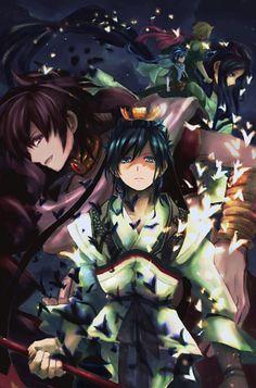 Ren Hakuryuu - Magi: The Labyrinth of Magic