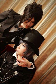 sebastian and ciel cosplay | Cosplay del día: Sebastian & Ciel (Kuroshitsuji) | RetornoAnime ...