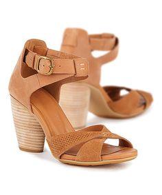 15e3ecd654289a EMU Australia Tan Tweed Leather Sandal