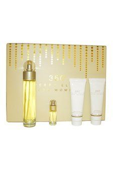 Perry Ellis 360 4 Piece Gift Set by Perry Ellis. $40.33. Parfum Perry Ellis Parfum Femme Eau De Parfum Vaporisateur 30 Ml. Introduced by Perry Ellis in 1994 PERRY ELLIS 360 is a sharp aquatic fragrance. This Perfume has a blend of tangerine melon water lily lavender sage amber musk and vanilla. It is recommended for casual wear.. Save 48%!