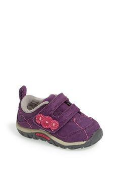 Merrell 'Jungle' Leather Sneaker (Walker & Toddler) available at #Nordstrom