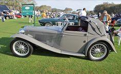 MG TA 1938 Tickford Drophead