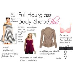 Full Hourglass Body Shape